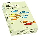 Papyrus 88042590 Druckerpapier Rainbow 120 g/m², A4 250 Blatt hellgrün