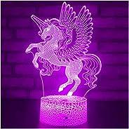 Viden Unicorn Toys for Girls Gifts, Girl Unicorn Birthday Gifts, Kids Bedside Desk Lamp Night Light for Toddle