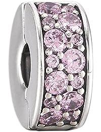 Pandora Shining Elegance Clip, Pink CZ 791817PCZ