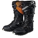 O'Neal Rider Boot MX Stiefel Schwarz Moto Cross Motorrad Enduro Boots, 0329-1, Größe 43