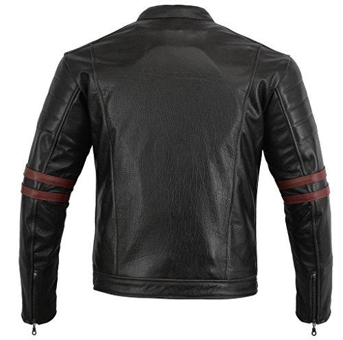 Bikers-Gear-UK-GIACCA-in-PELLE-da-MOTO-VINTAGE-CUSTOM-CAFE-RACER-TAGLIA-4XL