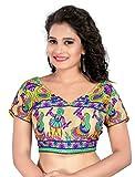 v.k.creation Multi Color Fabric Cotton E...