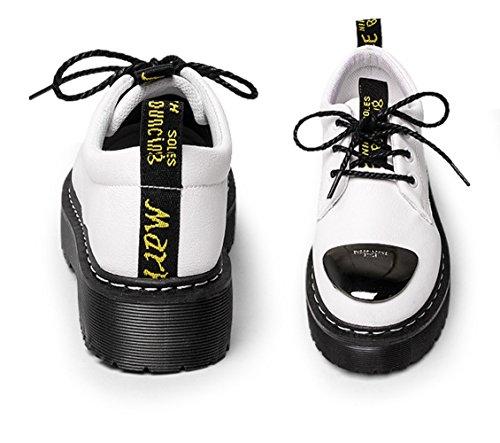 XTIAN - Scarpe con plateau Donna Bianco