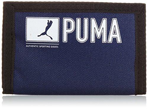 PUMA Geldbeutel Pioneer, new navy, One Size, 073471 02 (Damen Brieftasche Französisch Geldbörse)