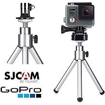 Theoutlettablet® Trípode para cámara deportiva Gopro Hero / SJCAM SJ4000 / Vtin Eypro 1sport Cam con accesorio