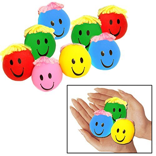toy-cubby-adorable-moldable-smiley-stress-balls-with-yarn-hair-2-dz-tc1-0021-24-by-toy-cubby