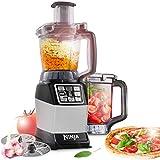 Nutri Ninja Küchenmaschine mit 1200W Kraft und Auto IQ - BL490EU2