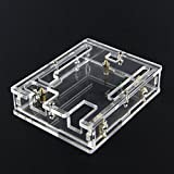 ExcLent 5pcs Transparent Acrylic Case Shell For Arduino UNO R3 Module Case