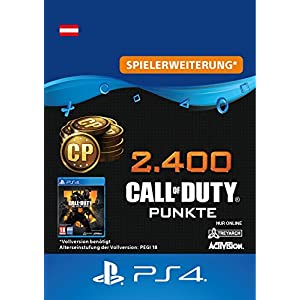 2.400 Call of Duty : Black Ops 4-Punkte – 2400 Points DLC | PS4/PS3 Download Code – österreichisches Konto