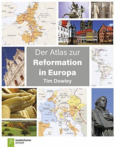 Der Atlas zur Reformation in Europa von Karl-Heinz Vanheiden