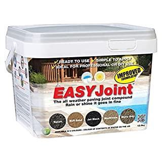 Easy Joint Stone Grey 12.5 Kg *40 tubs* Paving Jointing Compound Grout Azpects