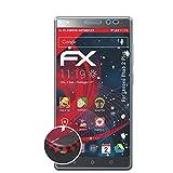 atFolix Schutzfolie passend für Lenovo Phab 2 Plus Folie, entspiegelnde & Flexible FX Bildschirmschutzfolie (3X)