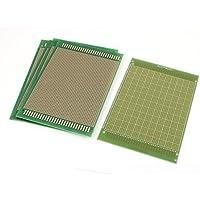 DealMux a15082800ux0511 placa de circuito impreso de un lado PCB con revestimiento de cobre de la cubierta 120 mm x 180 mm 5 Pieza