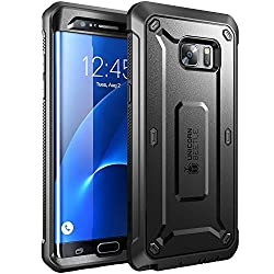 Samsung Galaxy Note 7 Case, SUPCASE Full-body Rugged Holster Case for Samsung Galaxy Note 7 (2016 Release), Unicorn Beetle PRO Series (Black/Black)