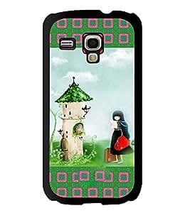 Printvisa 2D Printed Girly Designer back case cover for Samsung S3 I8190 Mini - D4151
