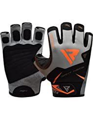 RDX Gym Weight Lifting Gloves Workout Fitness Bodybuilding Exercise Crossfit Breathable Powerlifting Wrist Support Strength Training