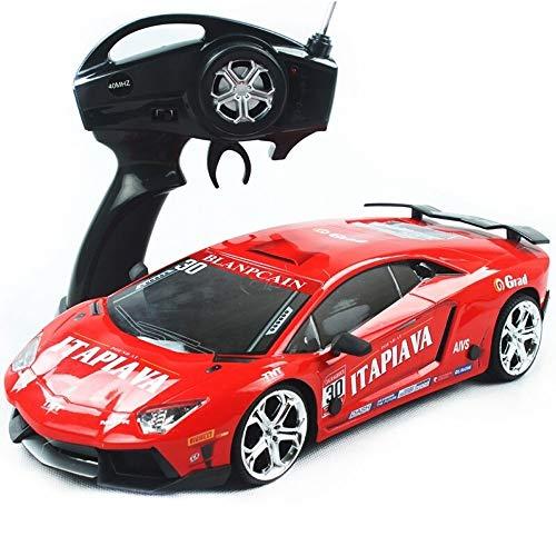 Kikioo Hochgeschwindigkeits-Monster 2,4 GHz RC-Rennwagen im Maßstab 1:12 4x4 RTR-Fernbedienung Rennwagen mit Drift 360 ° -Drehung Stunt-Drift Buggy-Rennen Geländelastwagen Geländewagen 45 km/h Gesch - 4k Story Toy