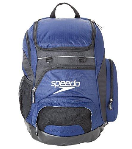 Speedo Teamster Mochila, Unisex Adulto, Azul (Navy), 35 l