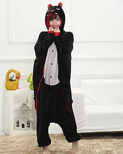 Kigurumi Pigiama Unisex Adulto Anime Cosplay Halloween Cosplay Costume PipistrelloA