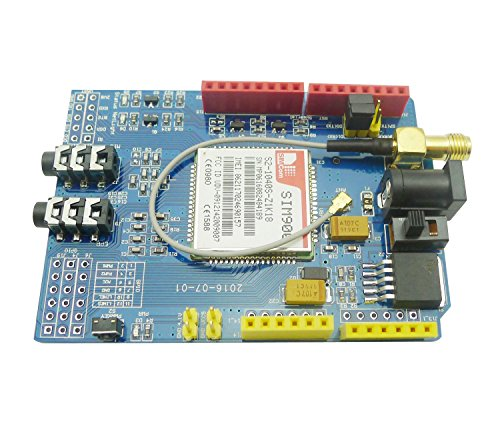 51B2l9oNEGL - Aihasd SIM900 GSM GPRS Module Quad-Band Development Board Wireless Data for Arduino Raspberry Pi