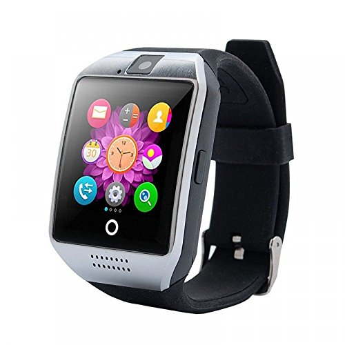 Oppo Joy Plus High quality smart calling Bluetooth Smartwatch   Camera   Calling Facility   Anti Lost Function   Video Recording   Phone Book  All functions of smartphones   Q18 Smart Watch   Bluetooth Smartwatch Phone with Camera TF SIM Card Slot   Compatible with 3G, 4G Mobiles , Android phones And IOS Users (Samsung, Oppo, Vivo, Gionee, Xiomi, Sony, Philips, Motorola) Silver Colour  available at amazon for Rs.2699