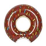 Schwimmring Donut NuoYo Aufblasbarer Schwimmhilfen mit Biss für Pool Party 70cm Durchmessser