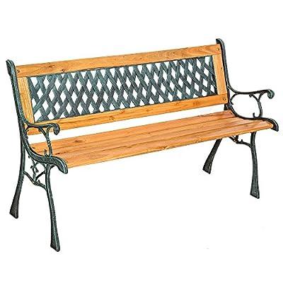 TecTake Gartenbank Parkbank Holz - diverse Modelle - von TecTake - Gartenmöbel von Du und Dein Garten