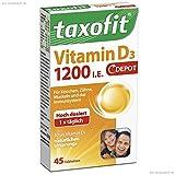 Taxofit Vitamin D3 1200 I.E. Depot Tabletten 45er