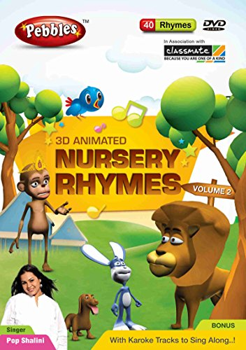 Pebbles Nursery Rhymes - Vol. 2 (DVD)