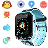 Kids Waterproof Smartwatch with GPS Tracker - Boys & Girls IP67 Waterproof Smart