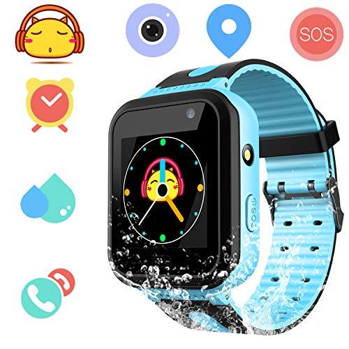 Smartwatch Impermeable para niños para niñas - IP67 Resistente al Agua para...