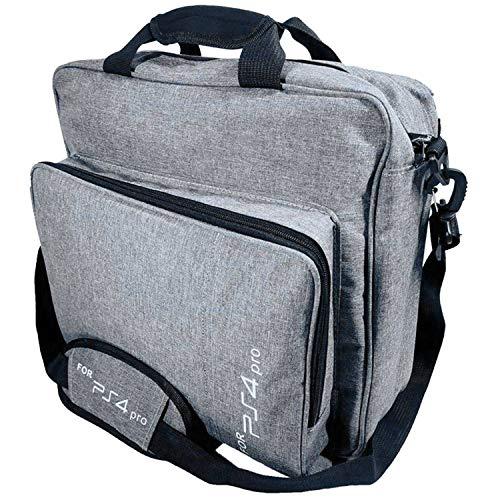 TOOGOO Wasserdicht STO?fest Trage Tasche Tasche Spiel System Schutz Reise Tasche Für Ps4 Pro System Zubeh?r (Grau)