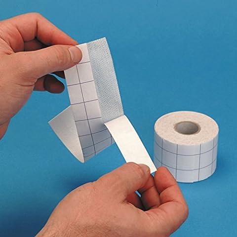 Sterofix Tape 10m | Weich & Porös | Minimisiert Schmerzen beim Entfernen & Irritation (Erste-hilfe-chirurgische Tape)