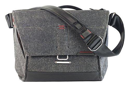 """Peak Design BS-13-BL-1 13"""" Messenger case Charcoal notebook case - Notebook Cases (Messenger case, 33 cm (13""""), Shoulder strap, 1.1 kg, Charcoal)"""