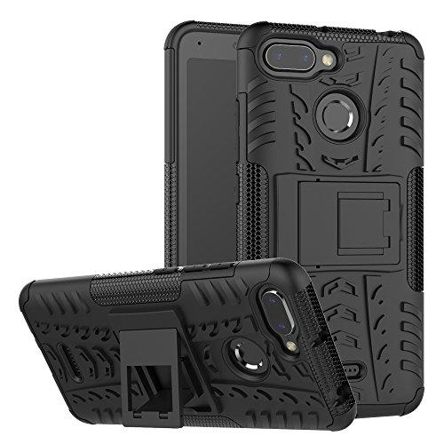 xinyunew Xiaomi Redmi 6/6A Hülle, Handyhülle Case 360 Grad Ganzkörper Schutzhülle+Panzerglas Schutzfolie Schützend Handys Schut zhülle Tasche Cover Skin für Xiaomi Redmi 6/6A Schwarz
