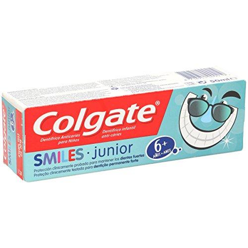 COLGATE pasta dentífrica smiles junior +6 años tubo