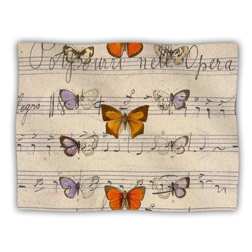 Kess InHouse Suzanne Carter Butterfly Opera - Manta