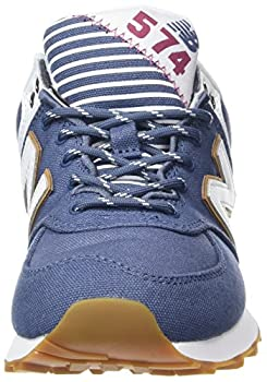 New Balance Women's Wl574v2 Yatch Pack Trainers, Blue (Blue), 5.5 Uk 38 Eu 3