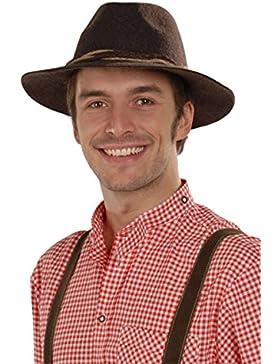Faustmann Hüte Herren Tiroler Hut braun 'Willi', braun,