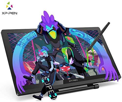 XP-PEN Artist 22 Pro HD IPS Grafiktablet Pen Display Grafikmonitor Drawing Tablet 8192 Drucksensitivität unterstützt 4k Monitor Win7/8/10 Mac OS 10.8