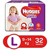 Huggies Wonder Pants Large Size Diapers (32 Count)
