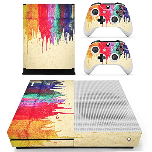 pandarenr-full-skin-sticker-faceplates-for-xbox-one-s-console-x-1-and-controller-x-2-wet-graffiti-in