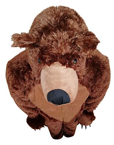 vasta gamma di Sconto del 60% catturare F67 M Orso bruno costume orso costume da adulto orsi costumi carnevale