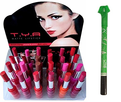 Homeoculture Tya Long Lasting Matte Lipstick Set Of 24