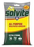 Solvite All Purpose 10 Roll Sachet Wallpaper Adhesive / 1 x 185g