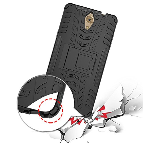 Chevron Back Cover for Coolpad Mega 2.5D (Black)