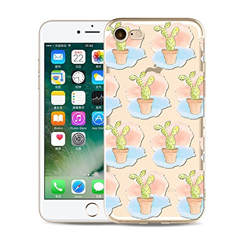 "Coque iPhone 5S Etui Housse,BoomTeck Coque Pour 4.0"" Apple iPhone 5/iPhone SE/iPhone 5S Silicone Souple Transparente Motif Clear Ultra Mince Anti Choc Anti-rayures Gel TPU Etui Protection Bumper Case  09"