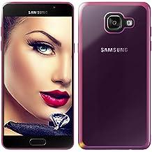 mtb more energy® Funda Style para Samsung Galaxy A5 2016 (SM-A510, 5.2'')   Rosa metálico   flexible   Gel TPU Silicona Carcasa Suave Cascara