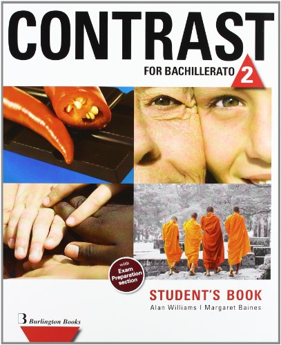 Contrast For Bachillerato 2. Student's Book - 9789963485277