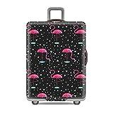 """S (adatto per bagaglio da 17 """"-21"""")M (adatto per bagaglio da 21 """"-25"""")L (adatto per bagaglio da 26 """"-29"""")XL (adatto per bagaglio da 30 """"-32"""")Nessun bagaglio sporcoProteggi il tuo amato compagno di viaggio da indossare e strappare con una copertura ba..."""